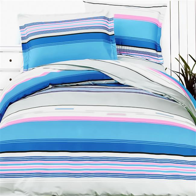 Blancho Bedding HM04-4/CFR01-4 Bright Blue Sky  5 Piece King Comforter Set