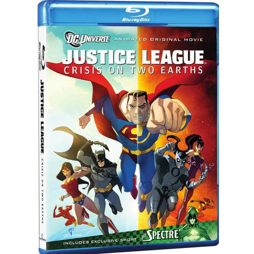 JUSTICE LEAGUE-CRISIS ON TWO EARTHS (BLU-RAY/FF-16X9/FR-SUB/DCON)