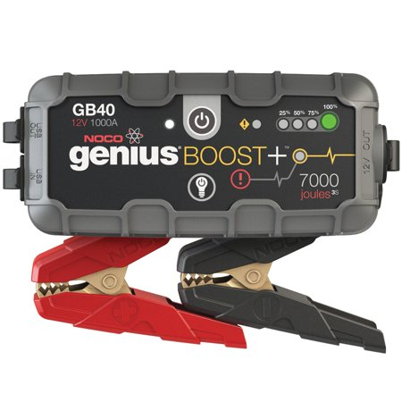 NOCO Boost Plus GB40 1000 Amp 12V UltraSafe Lithium Jump Starter for up to 6L Gasoline and 3L Diesel (Best Jump Starter 2019)