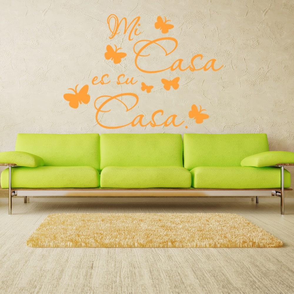 Style and Apply Mi Casa es su Casa Quote Phrases Wall Decal ...