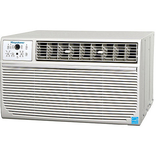 "Keystone High Efficiency 12,000-BTU 115V Through-the-Wall Air Conditioner with ""Follow Me"" Remote, KSTAT12-1A"