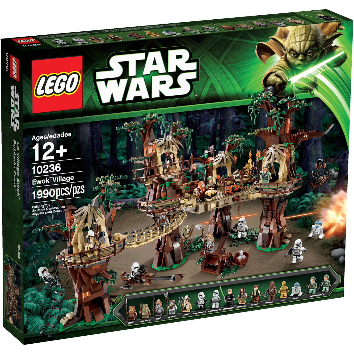 LEGO Star Wars Ewok Village Play Set - Walmart.com