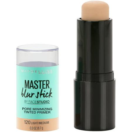 Maybelline Facestudio Master Blur Stick Primer, Light/Medium