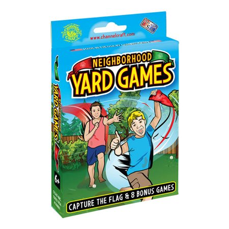 Channel Craft Neighborhood Yard Games- Nine Classic Backyard Games- Capture the Flag and More!