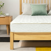 Best Price Mattress 6 inch Tight Top Spring Mattress, Comfort Foam Top with Bonnell Springs, Full