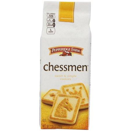 Pepperidge Farm Butter Chessmen Cookies, 7.25-Ounce - Packaged Halloween Cookies