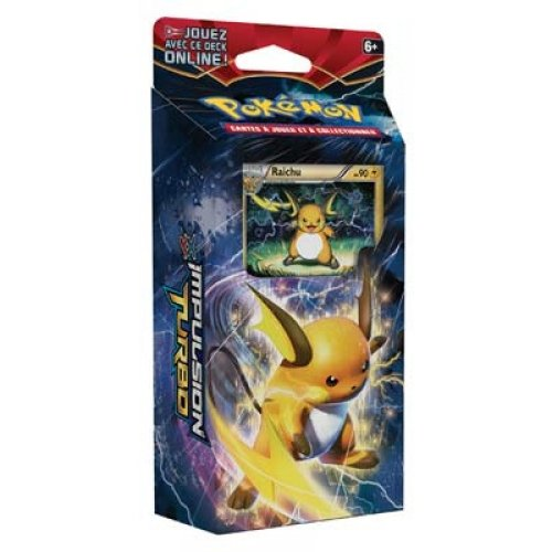 Pokemon TCG Card Game XY Break Through Theme Deck - Burning Spark - Raichu