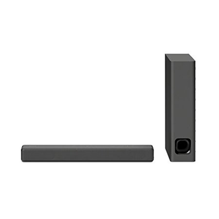 Sony HTMT300/B 2.1 Channel Mini Sound Bar with Wireless Subwoofer and Bluetooth - Black
