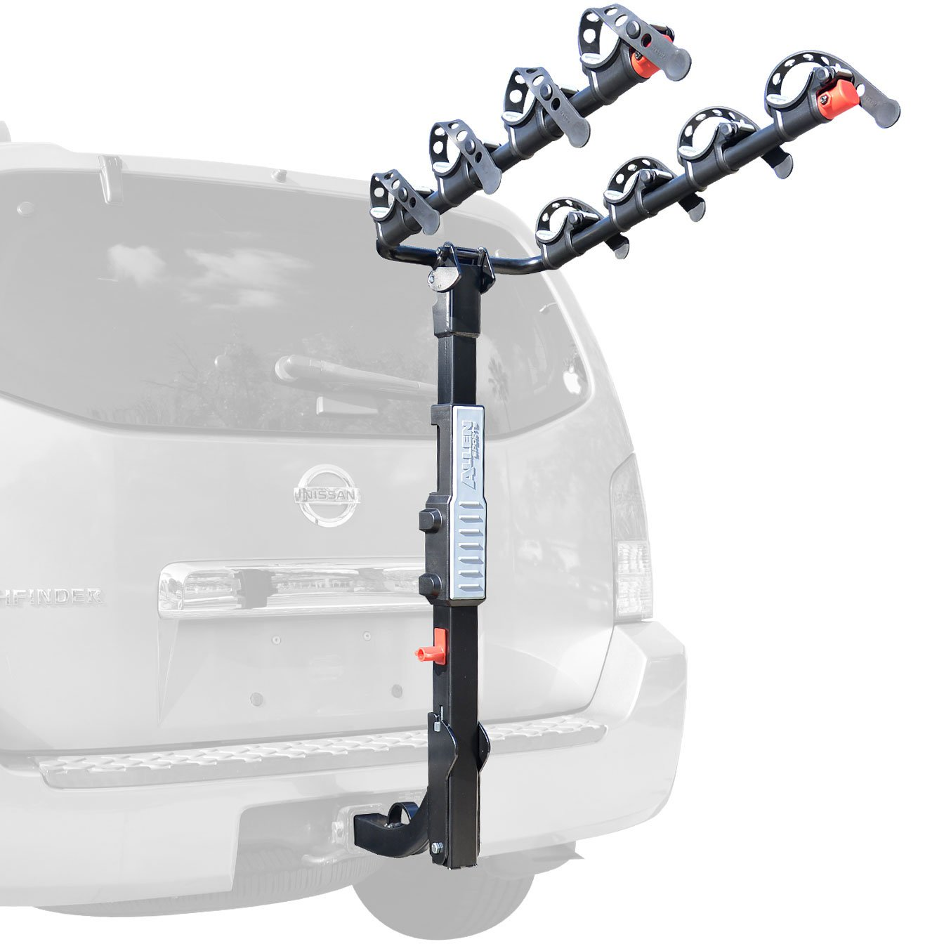 Allen Sports Premier 4-Bicycle Hitch Mounted Bike Rack Carrier, S-545 by Allen Sports