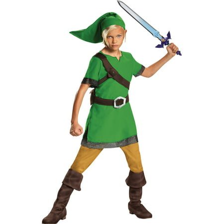 Link Classic Child Halloween Costume - Zelda Halloween Costume Link