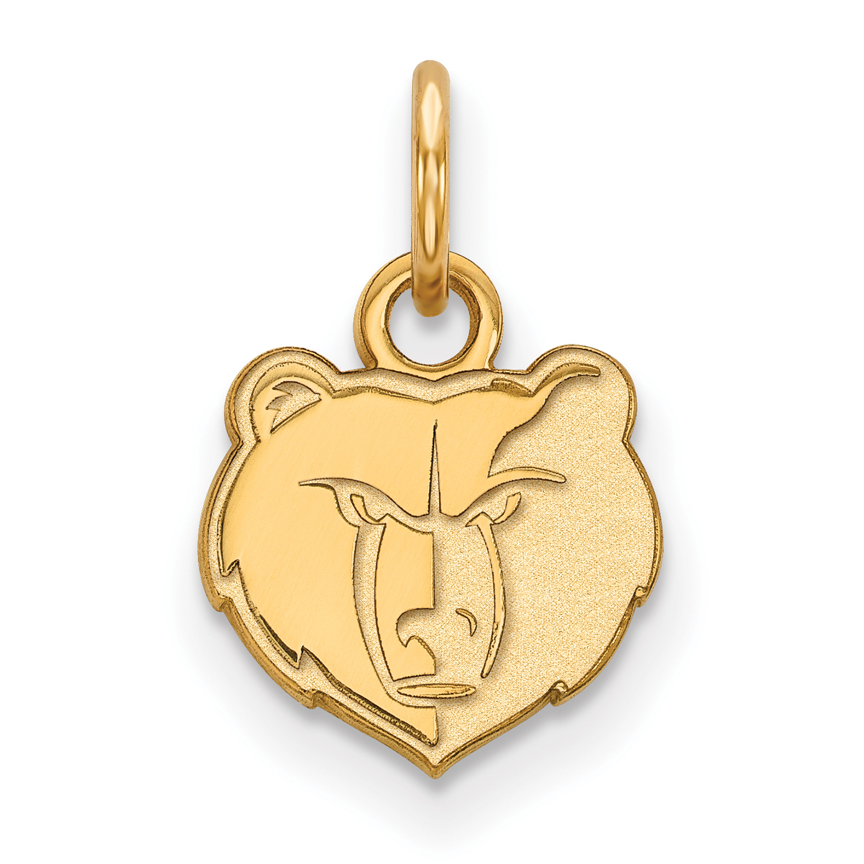 Memphis Grizzlies Women's Gold Plated XS Pendant - No Size