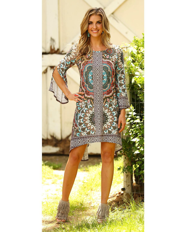 726b66f2ab9722 Wrangler Women s Flutter Sleeve Dress - Lwd713m - Walmart.com