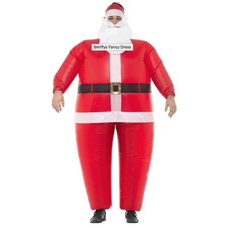 Inflatable Santa Costume Adult