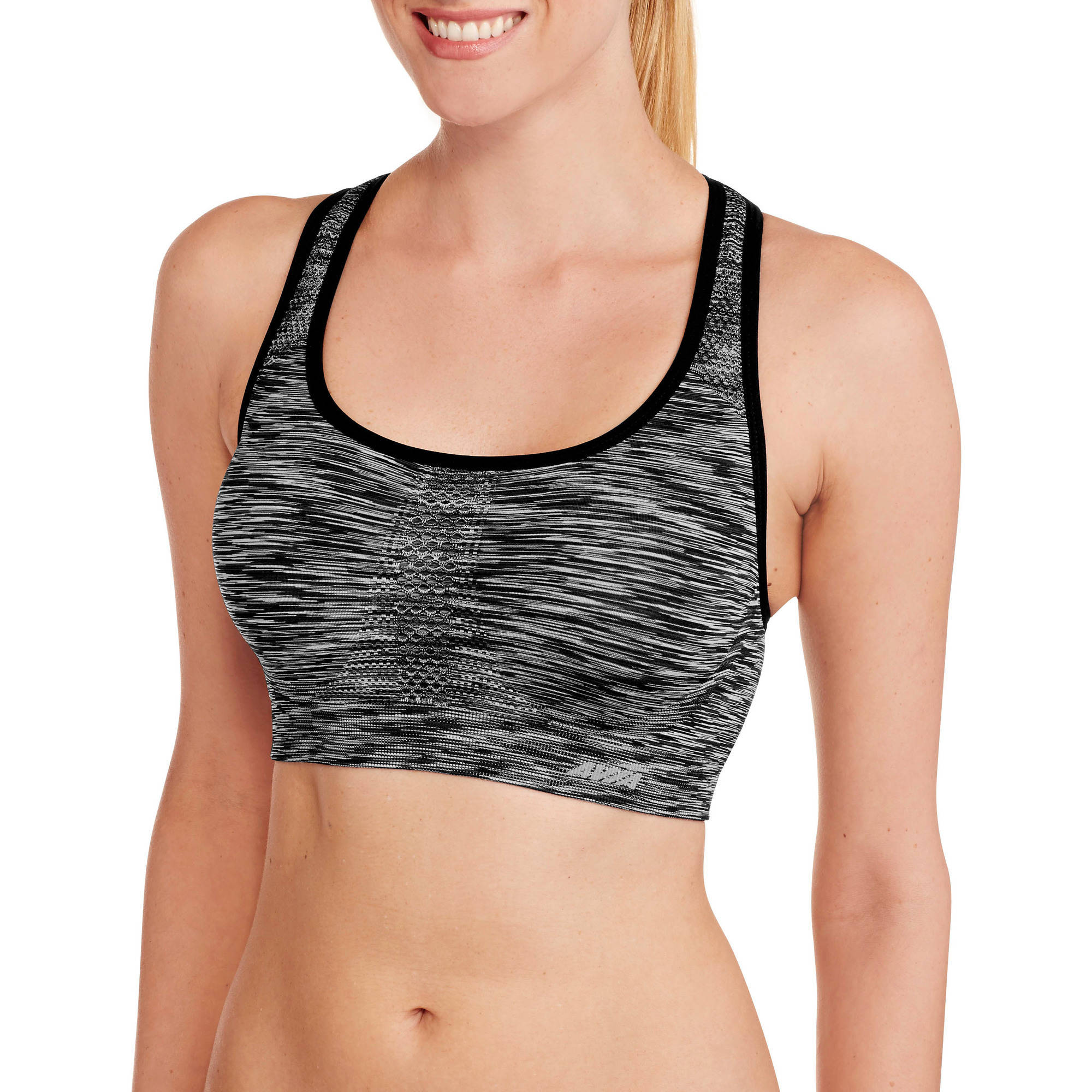Avia Women's Balance Medium-Impact Seamless Sports Bra