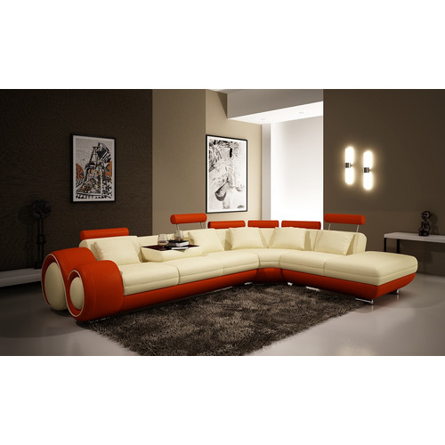 Hokku Designs Melrose Reclining Sectional by