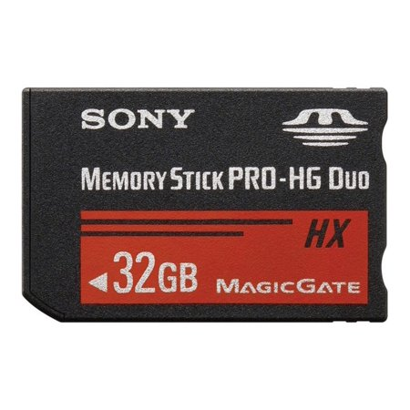 sony memory stick pro-hg duo 32gb (ms-hx32a)
