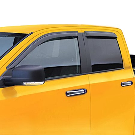 Fit 00-06 Toyota Tundra Access Cab window visor vent wind rain deflector For 00 01 02 03 04 05 06 Limited SR5