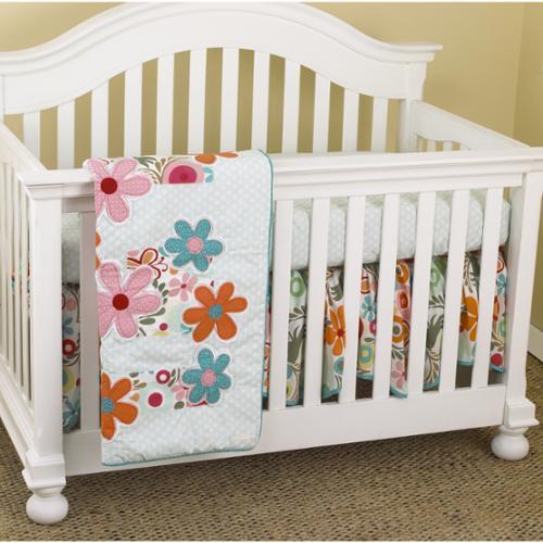 Cotton Tale Lizzie 3-piece Crib Bedding Set by Cotton Tale
