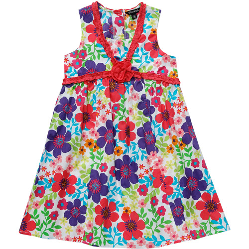 George Plus Girls' V Neck Floral Sundres