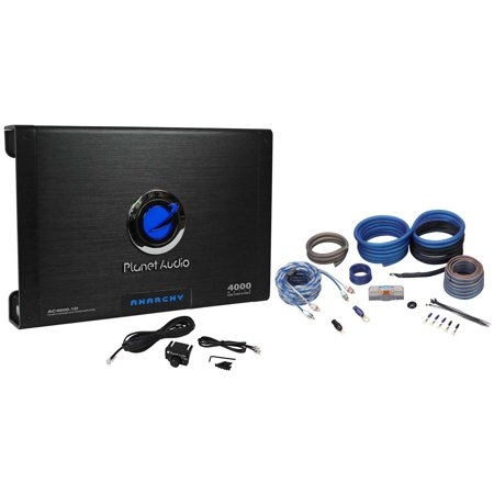 New Planet Audio AC4000 1D 4000W Class D Mono 1 Ohm Car Amplifier+