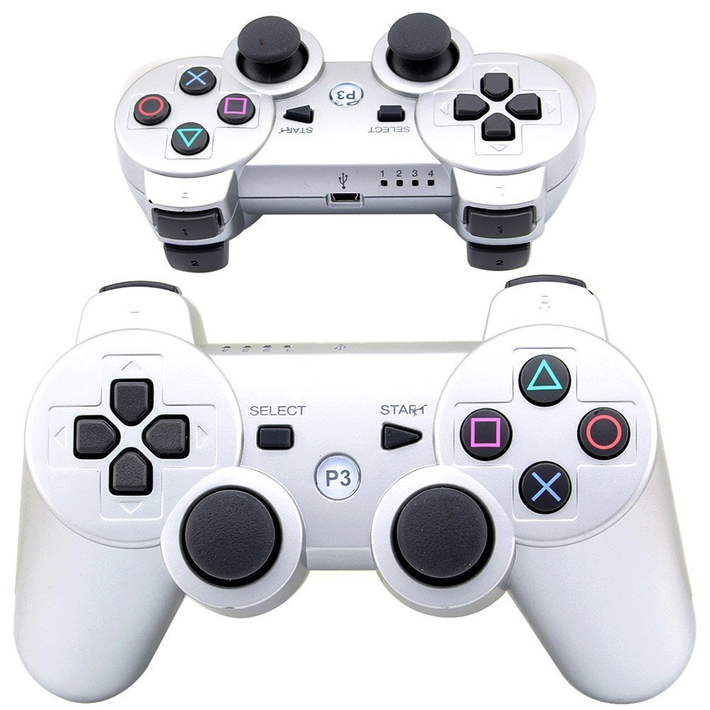 PS3 controller Wireless Bluetooth Double Shock Sixaxis Remote Gamepad for Sony PS3/PC