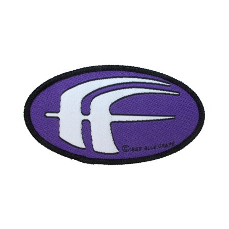 Industrial Saw - Fear Factory Purple FF Patch Band Logo Industrial Metal Music Sew On Applique