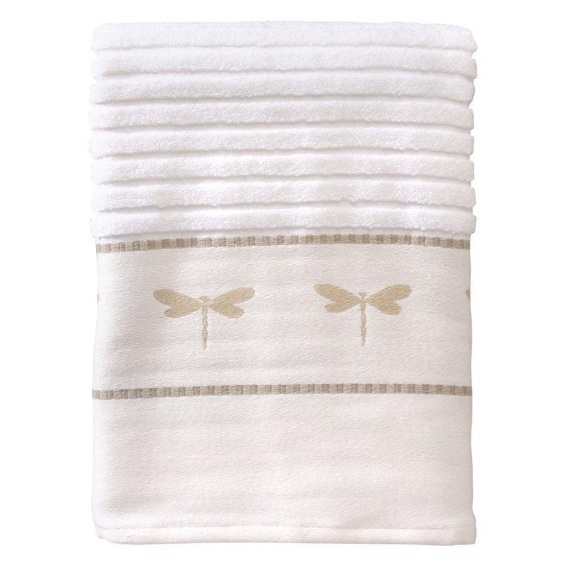 Creative Bath Dragonfly 100% Cotton Bath Towel