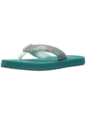 cbfdfc5a76727 Product Image Sanuk Yoga Glitter Little Kids   Toddler Sized Sandal - Sea  Green Boys