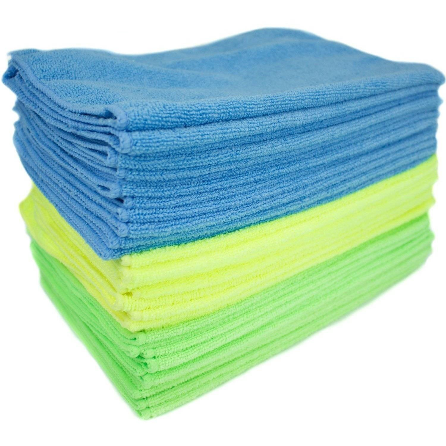 Zwipes Microfiber Cleaning Cloths, Multicolor (Pack of 12)