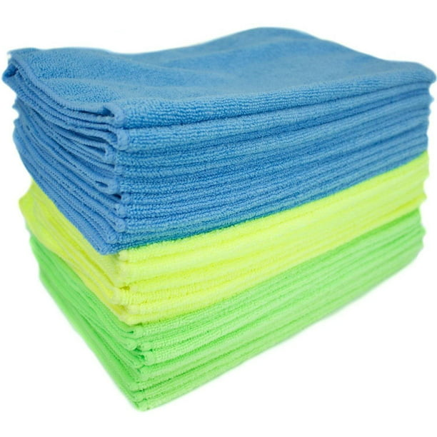 Zwipes Microfiber Cleaning Cloths, Multicolor, 12-Pack