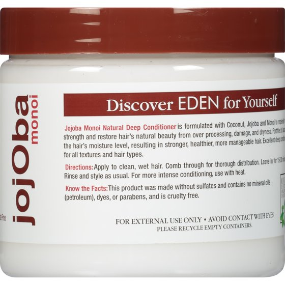 EDEN BodyWorks JojOba Monoi All Natural Deep Conditioner, 16 fl oz