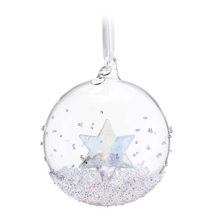 Swarovski Crystal Christmas Ornament CHRISTMAS BALL 2014 Star (Nachtmann Crystal Dancing Stars)