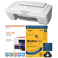 Canon PIXMA MG2522 All-in-One Inkjet Printer with Software