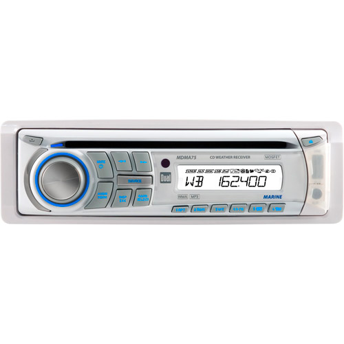 Dual MDMA75 Marine CD Player with USB Control for iPod and iPhone