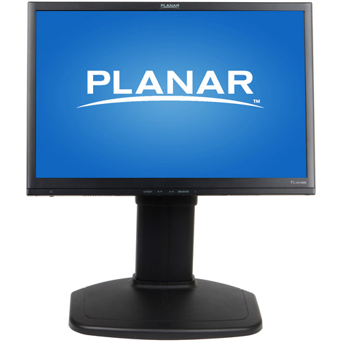 Planar PL1911MW - LCD display - TFT - 19  - widescreen - 1440 x 900 - 300 cd/m2 - 1000:1 - 5 ms - 0.2835 mm - DVI-D, VGA