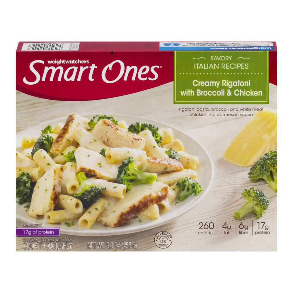 Weight Watchers Smart Ones Savory Italian Recipes Creamy Rigatoni With Broccoli & Chicken, 9.0 OZ