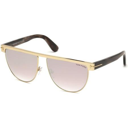 e2887ebafd85 tom-ford - sunglasses tom ford ft 0570 stephanie- 02 28z shiny rose gold    gradient - Walmart.com
