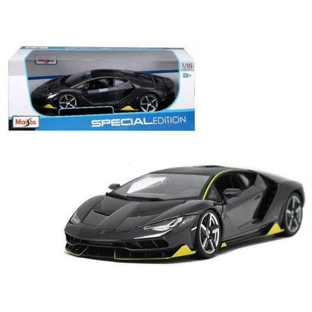 Maisto 1 18 Special Edition   Lamborghini Centenario Grey Diecast Toy Car 31386Gry