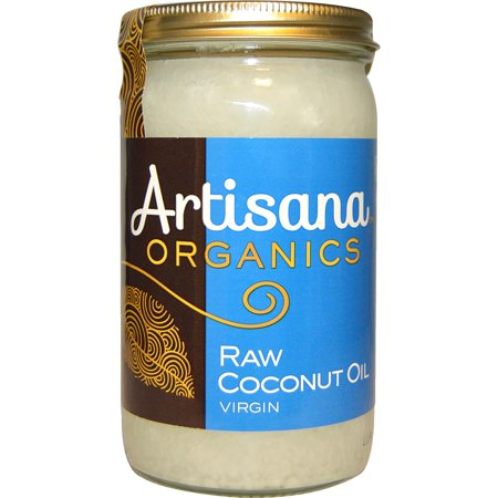 Raw Coconut (Artisana, Organics, Raw Coconut Oil, Virgin, 14 oz (pack of 1) )