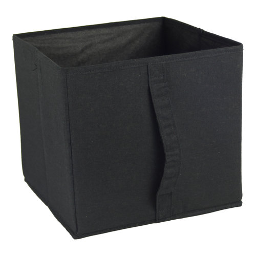 Mainstays Collapsible Bin with Vertical Handles
