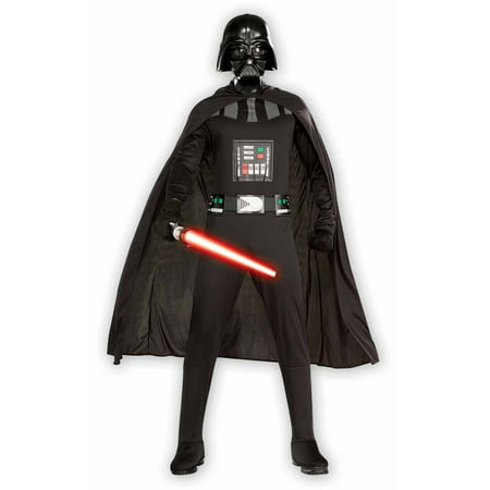 Star Wars Replica Costumes (Star Wars Darth Vader Adult Plus Halloween)