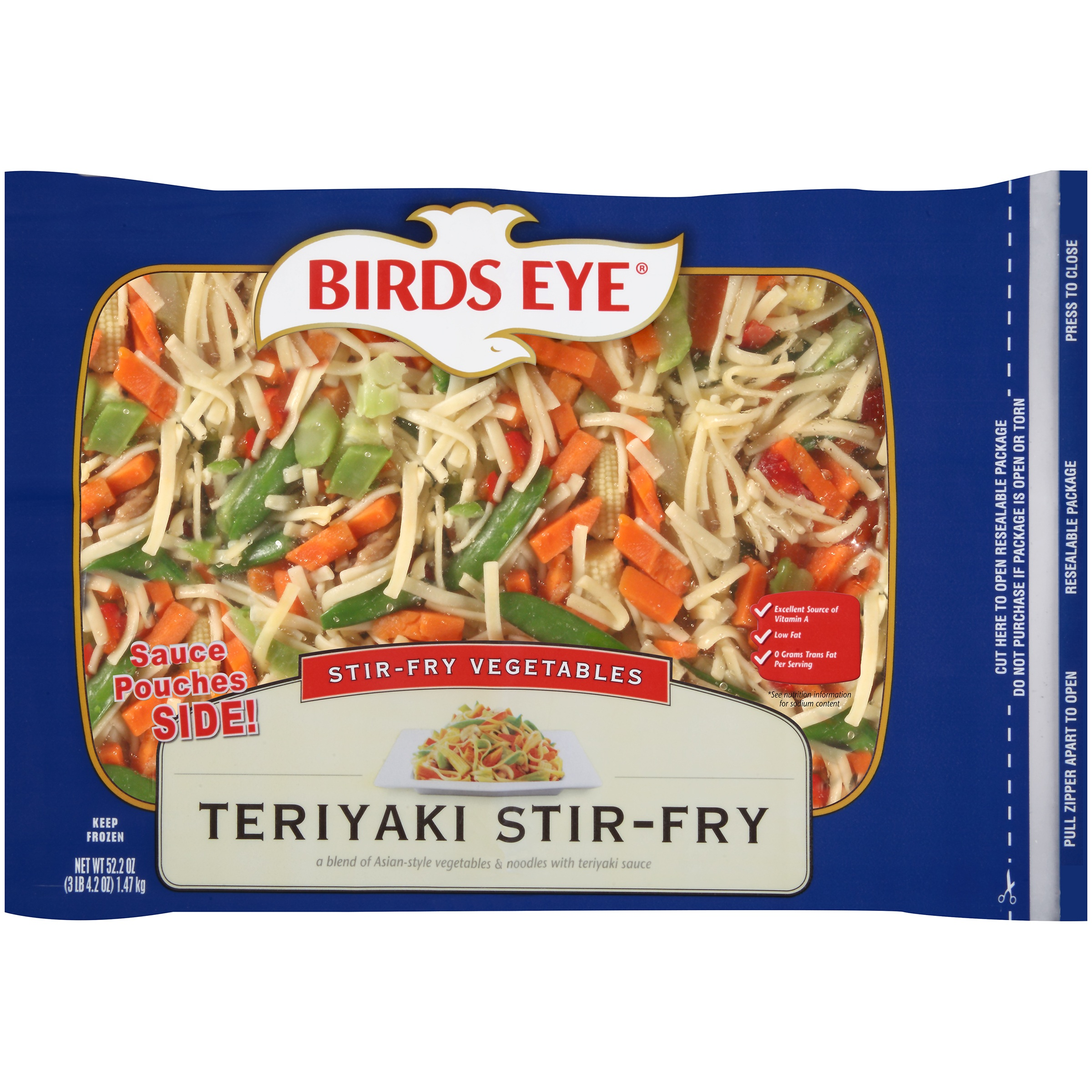 Birds Eye Teriyaki Stir-Fry Vegetables, 52.5 oz