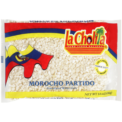 La Cholita Granulated White Corn, 14 oz