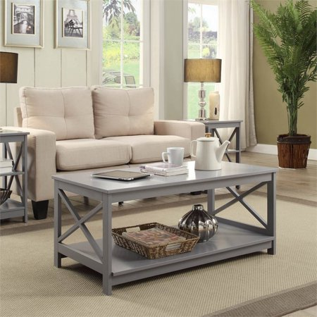 Remarkable Convenience Concepts Oxford Coffee Table In Gray Walmart Canada Caraccident5 Cool Chair Designs And Ideas Caraccident5Info