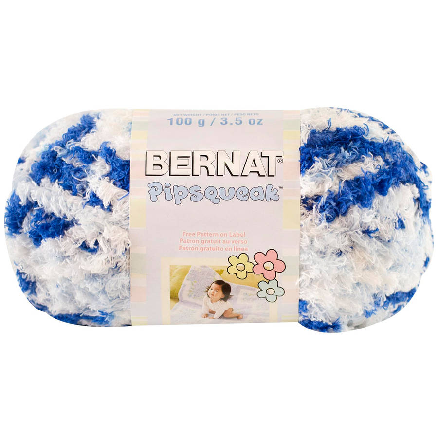 Bernat Pipsqueak Small Ball Yarn Available In Multiple Colors