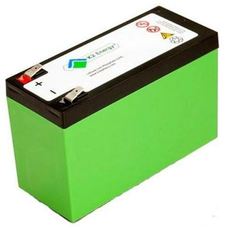 K2 Energy K2B12V7EB 12V 7Ah Lithium Iron Phosphate Battery