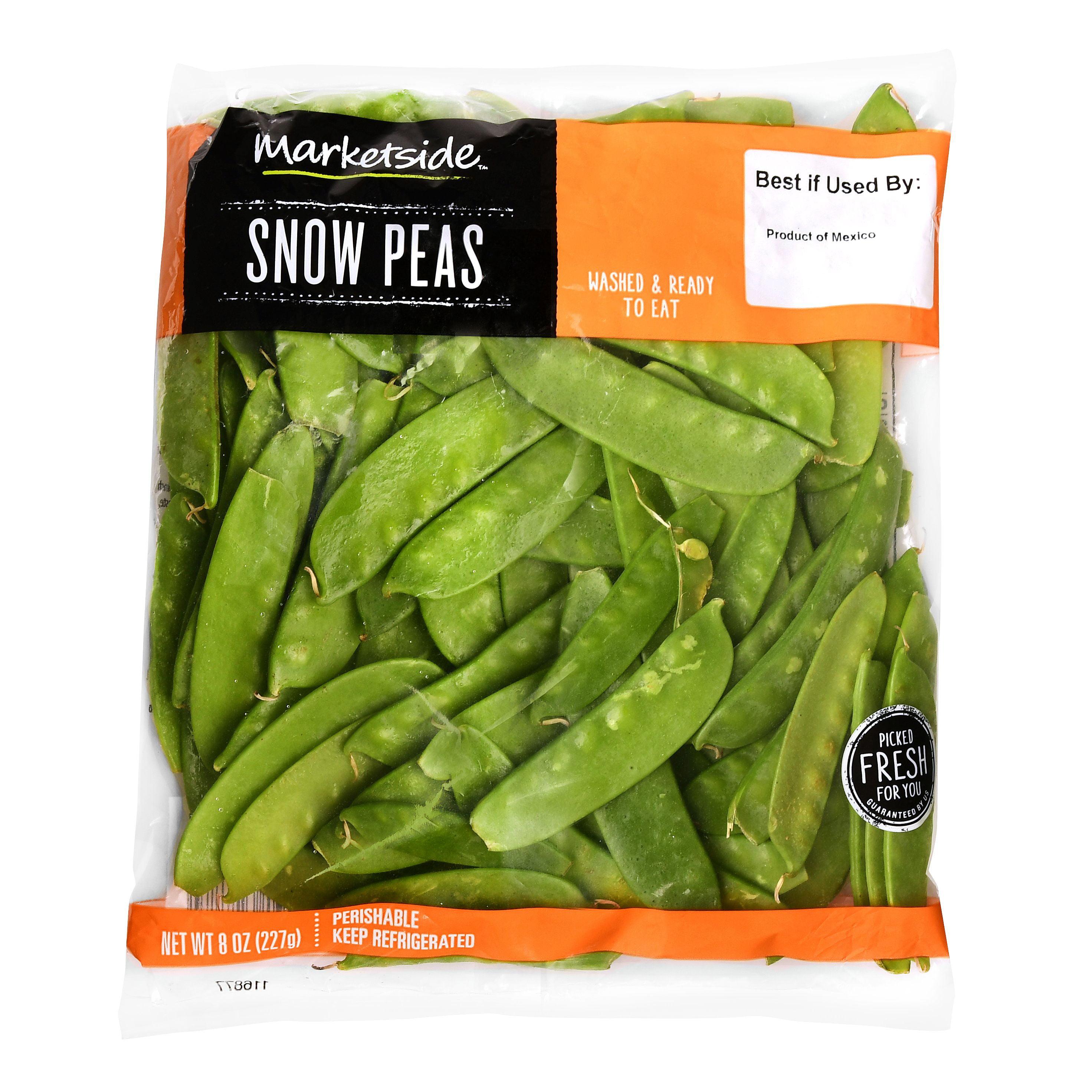marketside snow peas 8 oz walmart com