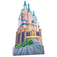 Star Cutouts SC634 Disney Princesses Castle Cardboard Cutout