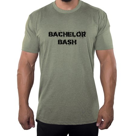 e57874ad Bachelor Party T-shirts, Wedding Party T-shirts, Custom Stag Party T-shirts  for Groom and Groomsmen - Bachelor Bash - Walmart.com