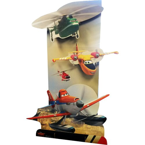 Advanced Graphics 3D Planes Fire and Rescue - Disney Cardboard Standup